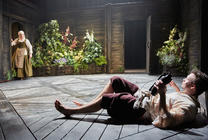 Photograph from The Herbal Bed - lighting design by Malcolm Rippeth