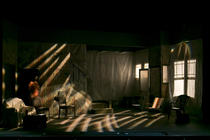 Photograph from Clybourne Park - lighting design by Laura Hawkins