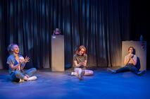 Photograph from I Want... - lighting design by jackfenton