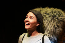 Photograph from Cyril The Squirrel - lighting design by Phil Buckley