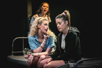 Photograph from Bad Girls The Musical - lighting design by Jack Weir