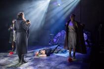 Photograph from Don Juan Comes Back From The War - lighting design by JacobGowler