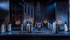 Photograph from Dialogues des Carmelites - lighting design by rohanmcdermott