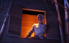Photograph from The Seagull - lighting design by Brendan Albrey