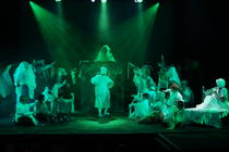 Photograph from Fiddler on the Roof - lighting design by LeeStoddart