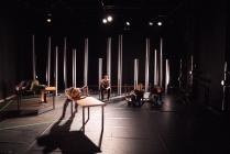 Photograph from The Good Earth - lighting design by Katy Morison