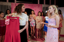 Photograph from Legally Blonde the Musical - lighting design by MatthewLofting