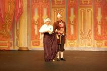 Photograph from Cinderella - lighting design by Ant-Lux
