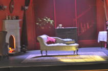 Photograph from Gaslight - lighting design by Michael Dobbs