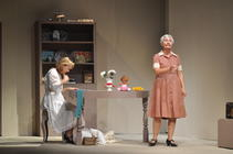 Photograph from My Mother Said I Never Should - lighting design by John Leventhall