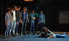 Photograph from West Side Story - lighting design by Matt Whale
