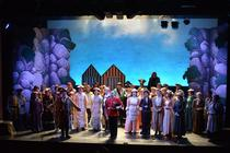 Photograph from The Pirates of Penzance - lighting design by John Castle