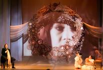 Photograph from Orphee et Eurydice - lighting design by Chris Gatt
