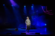Photograph from Money Makes The World Go Round - lighting design by Dan Terry