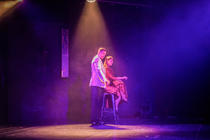 Photograph from Echoes In The Night - lighting design by Dan Terry