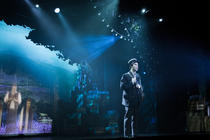 Photograph from The Outsider - lighting design by Dan Terry