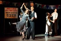 Photograph from Dance Derby - lighting design by Laura Hawkins