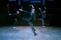 Photograph from Bullets over Broadway - lighting design by Paul Lennox