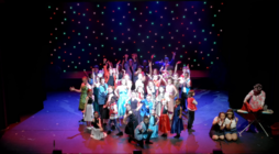 Photograph from Pure Imagination - lighting design by Chris May