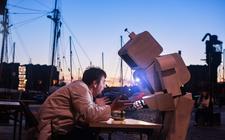 Photograph from Omni Science - lighting design by josetevar