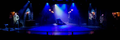 Photograph from Echos In The Night - lighting design by Archer