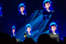 Photograph from Ed Sheeran  World Tour - lighting design by Paul Smith