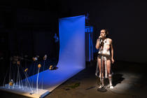 Photograph from In A Way so Brutal - lighting design by Marty Langthorne