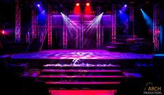 Photograph from Jesus Christ Superstar - lighting design by Archer