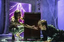 Photograph from Frankenstein - lighting design by Grant Anderson