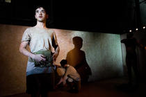 Photograph from Affection - lighting design by Zoe Spurr