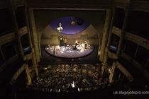 Photograph from Gianni Schicchi - lighting design by Paul Froy