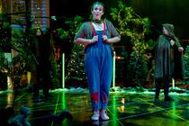 Photograph from Hansel and Gretel - lighting design by NFLX-Scot
