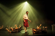 Photograph from Highland Fling - lighting design by KJohnson