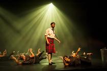 Photograph from Highland Fling - lighting design by KJohnson