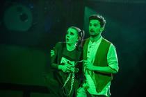 Photograph from Jack and the Beanstalk - lighting design by MattCondonLD
