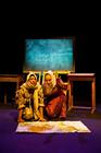 Photograph from Go To Your God Like A Soldier - lighting design by Alex Lewer