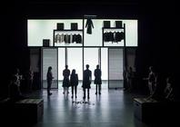 Photograph from The Taming of The Shrew - lighting design by JamesM