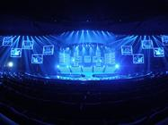 Photograph from Backstreet Boys: Larger Than Life Las Vegas - lighting design by Richard Neville