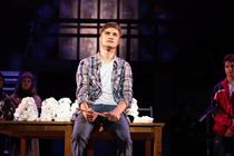 Photograph from Rent - lighting design by JimmiRichardson