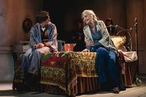 Photograph from Harold and Maude - lighting design by Matthew Clutterham