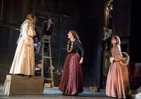 Photograph from Crime and Punishment - lighting design by hjellis93