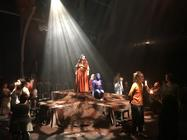Photograph from Seraphina - lighting design by Laura Hawkins