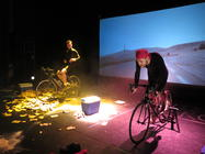 Photograph from Ventoux - lighting design by Chris Flux