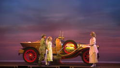 Photograph from Chitty Chitty Bang Bang - lighting design by Pete Watts