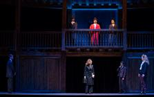 Photograph from The Merchant Of Venice - lighting design by Derek Carlyle