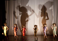 Photograph from Duckie Loves Fanny - lighting design by Marty Langthorne
