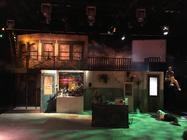 Photograph from Little Shop of Horrors - lighting design by RaefnW