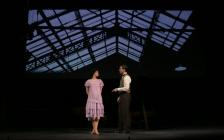 Photograph from Singing in the Rain - lighting design by Nick Moran