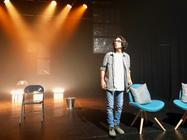 Photograph from Wastwater - lighting design by Daniel Carter-Brennan