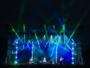 Photograph from Newark Festival 2017 - lighting design by Pete Watts